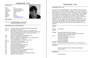 CV MarlindeVos