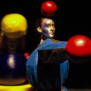 RGB, a Triadic Ballet