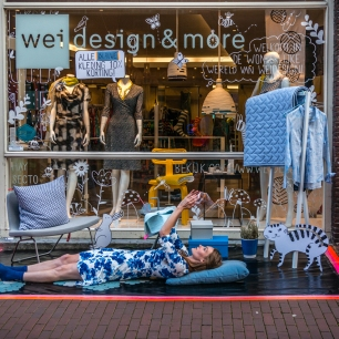 Shopping Night Haarlem Weidesign